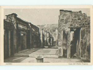 W-Border NICE VIEW Pompeii Near Naples Napoli - Campania Region Italy i4414