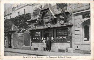 CPA Paris 17e - Le Restaurant du Grand Veneur (74994)