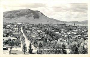 Birdseye View 1940s Montana Mount Helena State Capitol RPPC real photo 7218