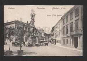 054995 GERMANY Baden Hotel Stadt Baden Vintage PC
