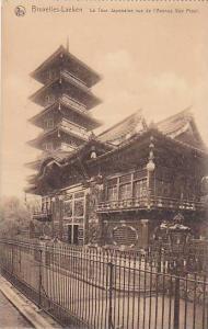 La Tour Japonaise, Vue De l'Avenue Van Praet, Bruxelles-Laeken, Belgium, 00-10s