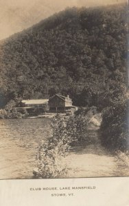 RP: STOW , Vermont, 1914 ; Club House , Lake Mansfield