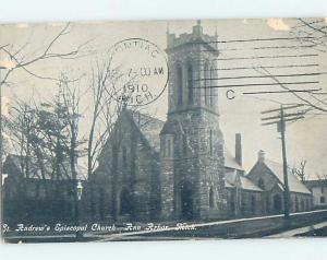 Divided-Back CHURCH SCENE Ann Arbor Michigan MI A9931