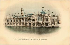 CPA PARIS EXPO 1900 Le Palais de la Navigation (576200)