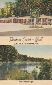 ATLANTA , Georgia , 1930-40s ; Flamingo Courts - Grill