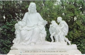 Glendale CA - 'For of Such is the Kingdom of Heaven' carved by Vincenzo Jerace