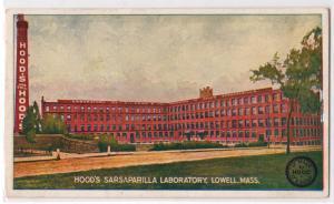 Hood's Sarsaparilla Laboratory, Lowell MA
