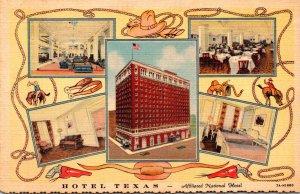 Texas Fort Worth Hotel Texas Curteich