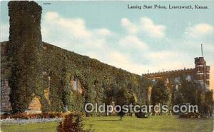 Lansing State Prison Leavenworth, Kansas USA Prison Postcard Post Card Leaven...