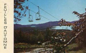 Canada - Quebec, Abbotsford, Rouville. Chair Lift