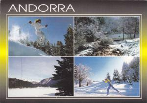 Ski Slopes , ANDORRA , 50-70s