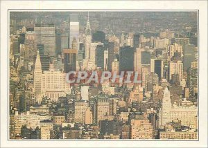 Postcard Modern New York View over Manthattan