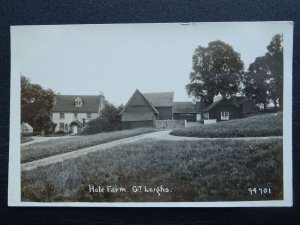 Essex Chelmsford GREAT LEIGHS Hole Farm - Old RP Postcard