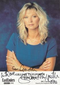 Gillian Taylforth as Kathy Sullivan in BBC Eastenders RARE Hand Signed Photo
