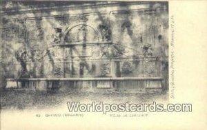 Pilar De carlos V, Granada, Alhambra Spain Tarjeta Postal Unused