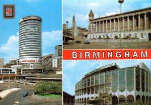 Birmingham Double Diamond Beer Midland Bank Advertising Sign Postcard