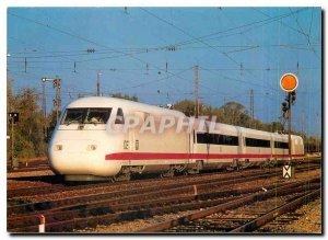 Postcard Modern High Speed ??Train ICE