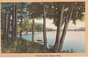 Michigan Greetings From Empire 1947
