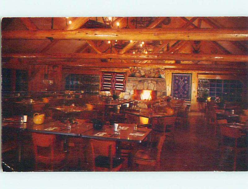 Pre-1980 NATIVE INDIAN PAHASKA TEPEE RESTAURANT BY YELLOWSTONE Cody WY v7390-12
