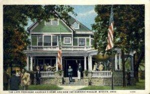 President Harding's Home - Marion, Ohio