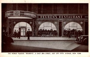 New York, New York - World Famous Reuben's on 58th Street off 5th Avenue