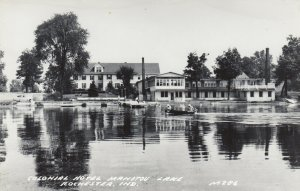 RP: ROCHESTER, Indiana, 1930-40s; Colonial Hotel, Manitou Lake