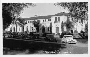 Post Office Cars Pomona California Frasher RPPC Real Photo postcard
