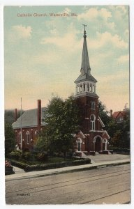 Waterville, Me, Catholic Church