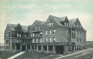 Pullman Washington State College~Stone Porch~Nice Windows~Stevens Hall~1910