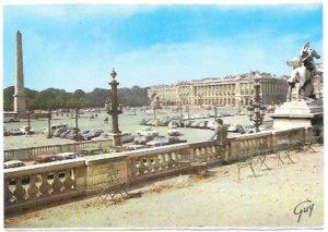 Paris. La place de la Concorde.  Nice.  Unused.