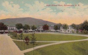 SALAMANCA, New York: High School Park, 1900-10s