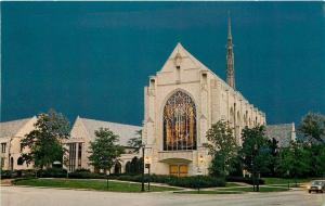 Evanston Illinois~Northwestern University~Alice Millar Chapel~1960s Postcard