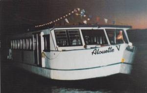 Alouette Night Cruise, Lac des Sables, Ste Agathe-des-Monts, Quebec, Canada...
