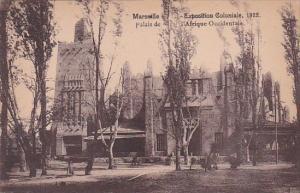 Palais de l'Afrique Occidentale Marseille Exposition Coloniale 1922