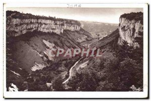 Postcard Ancient Caves of Baume les Messieurs Jura general view of the Vallee