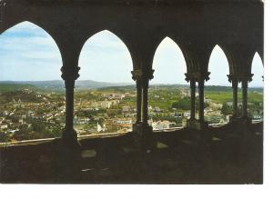 Postal 031197 : Leiria (Portugal). Partial view of the city from cloister of ...