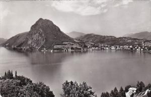 Switzerland Lago di Lugano Monte San Salvatore 1957
