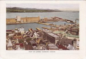 Port De Quebec Harbour , Canada , 1930-40s