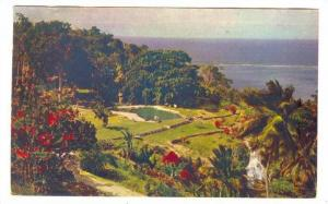 Part of Grounds at Shaw Park Hotel, St. Ann Jamaica, showing Swimming Pool, S...