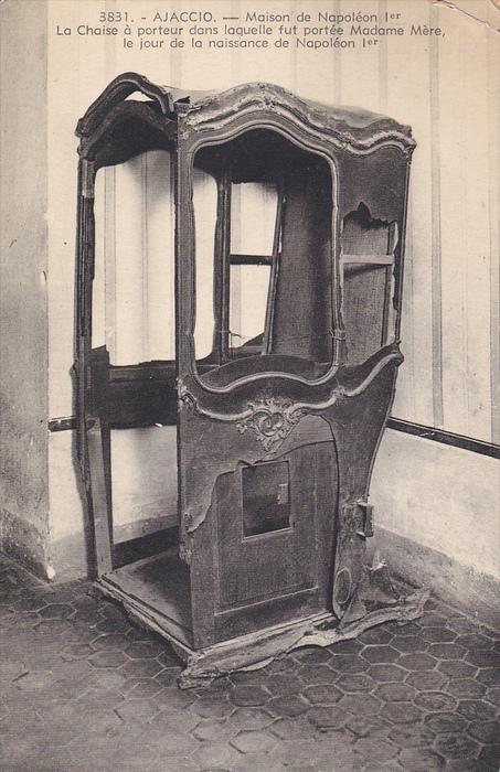 AJACCIO , Corse , France , 00-10s ; Maison de Napoleon 1er - La Chaise