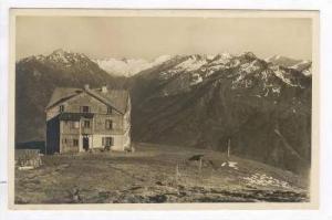 RP  Wildkogelhaus gegen die Venedigergruppe, Austria, 1939