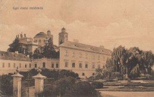 Egri Erseki Rezidencia Hungary Old 1915 WW1 Postcard