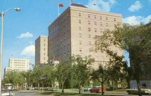 Canada - Saskatchewan, Regina. Saskatchewan Hotel on Victoria Ave