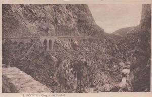 Gorges Du Chabet 11 Bougie Algeria Antique Algerian Mediterranean Old Postcard