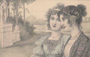 M.M. VIENNE : Two women , 1901-07