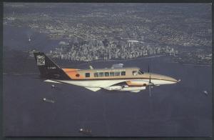 Waglisla Air Wagair Airline Beech 99 Vancouver BC Canada Airplane Postcard