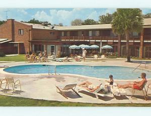 Unused Pre-1980 ADVENTURE INN MOTEL Hilton Head Island South Carolina SC s2304