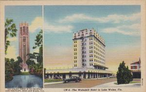 Florida Lake Wales Singing Tower and Walesbilt Hotel Curteich