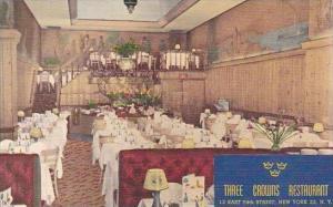 New York City  Three Crowns Restaurant