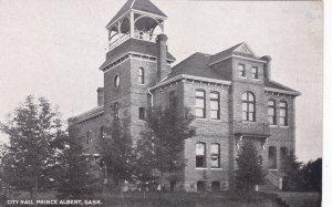 PRINCE ALBERT, Saskatchewan, Canada, 1900-1910s; City Hall